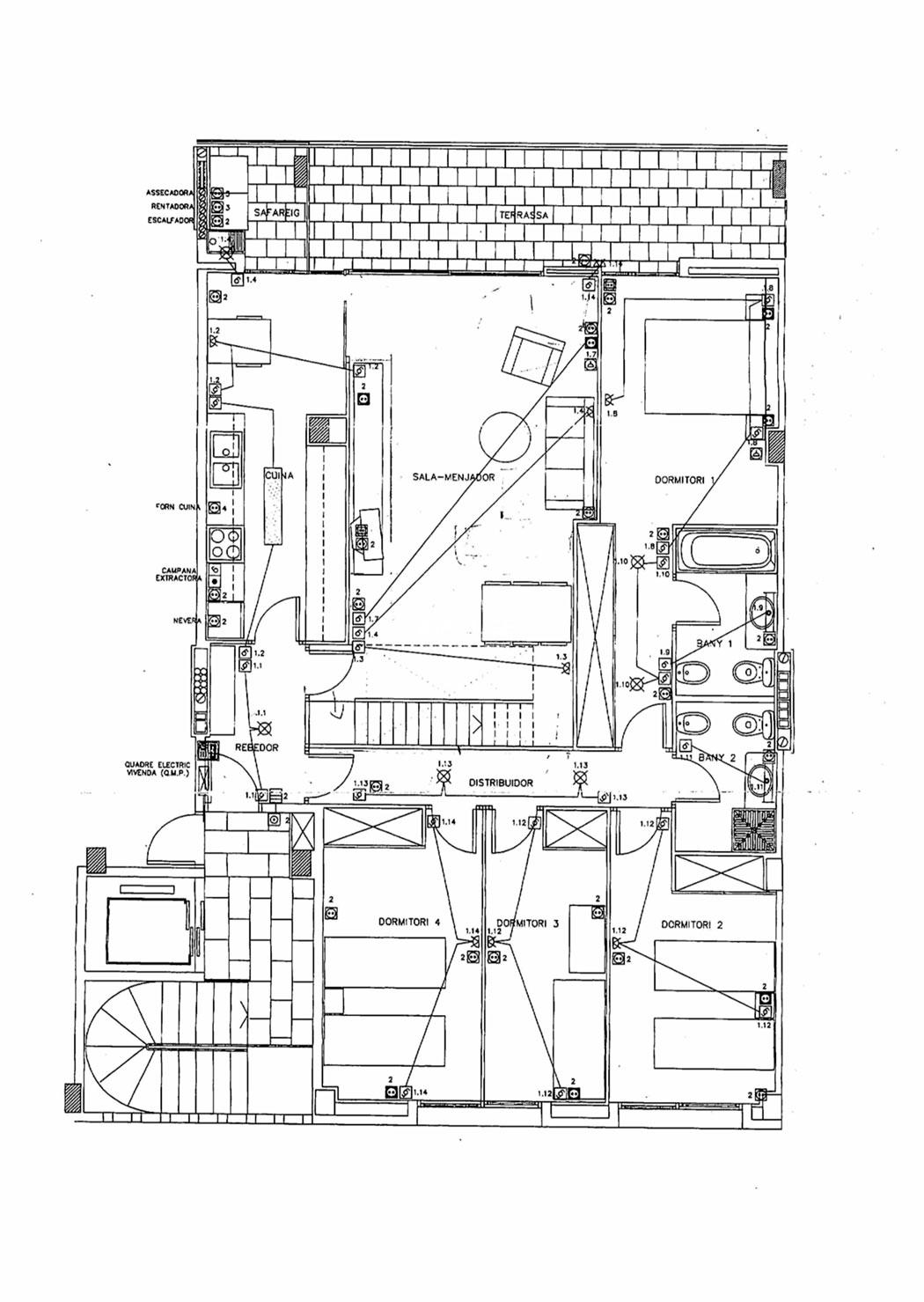 Sant Cugat - Torre Blanca Ático Dúplex